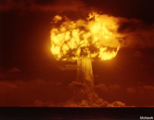Nuclear Test Photo